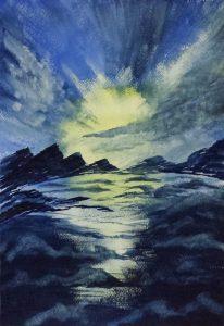 Sunrise 1 -27x39.5 cm