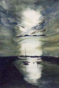 Sunrise 2/Изгрев 2-27x39.5 cm
