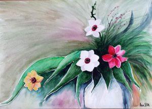 Daffodils -42x30 cm