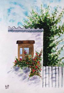 Window/Прозорец-23.5x33.5 cm
