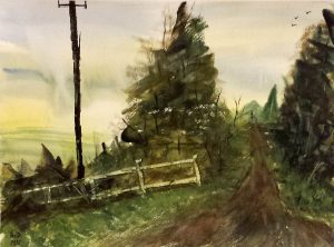 Country -43x32 cm