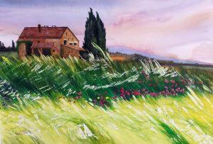 Tuscany -49.5x34.5 cm