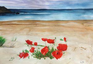 Silistar beach 48x33 cm