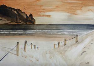 Sand dunes 47x33,5 cm