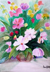 Bouquet/Букет-23.5x33.5 cm
